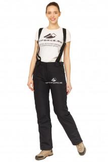 Купить оптом брюки горнолыжные женские темно-синего цвета 818TS в интернет магазине MTFORCE.RU