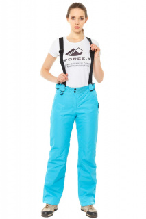 Интернет магазин MTFORCE.ru предлагает купить оптом брюки горнолыжные женские голубого цвета 818Gl по выгодной и доступной цене с доставкой по всей России и СНГ