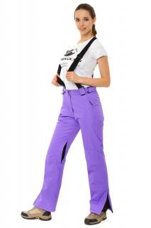 Купить оптом брюки горнолыжные женские фиолетового цвета 818F в интернет магазине MTFORCE.RU