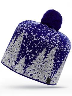 Купить оптом шапку темно-синего цвета в интернет магазине MTFORCE 6025TS