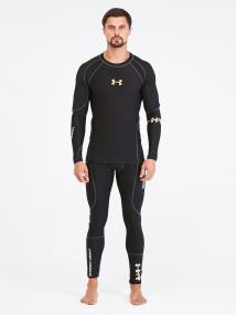 Термобелье мужское черного цвета купить оптом в интернет магазине MTFORCE 8668Ch