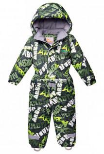 Купить оптом комбинезон горнолыжный детский цвета хаки 8705Kh в интернет магазине MTFORCE.RU