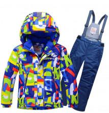 Интернет магазин MTFORCE.ru предлагает купить оптом костюм горнолыжный подростковый темно-синего цвета 8715TS по выгодной и доступной цене с доставкой по всей России и СНГ
