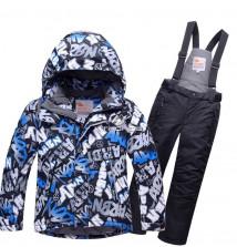 Интернет магазин MTFORCE.ru предлагает купить оптом костюм горнолыжный для мальчика синего цвета 8717S по выгодной и доступной цене с доставкой по всей России и СНГ