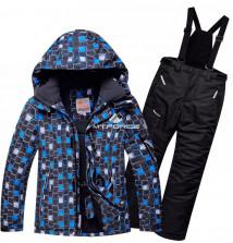 Интернет магазин MTFORCE.ru предлагает купить оптом костюм горнолыжный для мальчика синего цвета 8731S по выгодной и доступной цене с доставкой по всей России и СНГ