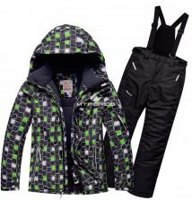 Интернет магазин MTFORCE.ru предлагает купить оптом костюм горнолыжный для мальчика зеленого цвета 8731Z по выгодной и доступной цене с доставкой по всей России и СНГ