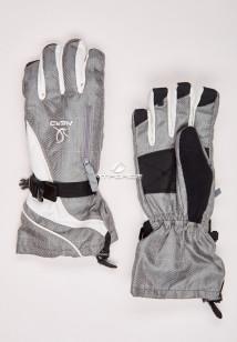 Купить оптом перчатки мужские горнолыжные серого цвета 88060Sr в интернет магазине MTFORCE.RU