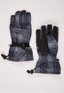 Купить оптом перчатки мужские горнолыжные темно-серого цвета 88061TC в интернет магазине MTFORCE.RU