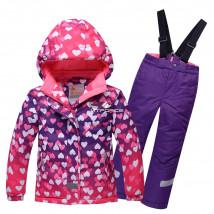 Оптом горнолыжный костюм подростковый для девочки купить недорого в Москве в интернет магазине MTFORCE 8814R