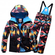 Оптом горнолыжный костюм подростковый для девочки купить недорого в Москве в интернет магазине MTFORCE 8820Ch