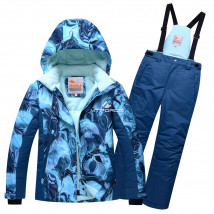 Оптом горнолыжный костюм подростковый для девочки купить недорого в Москве в интернет магазине MTFORCE 8824S
