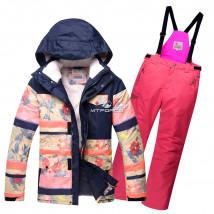 Оптом горнолыжный костюм подростковый для девочки купить недорого в Москве в интернет магазине MTFORCE 8830R