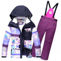 Оптом горнолыжный костюм подростковый для девочки купить недорого в Москве в интернет магазине MTFORCE 8830F
