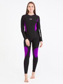 Термобелье фиолетового цвета купить оптом в интернет магазине MTFORCE 8882F