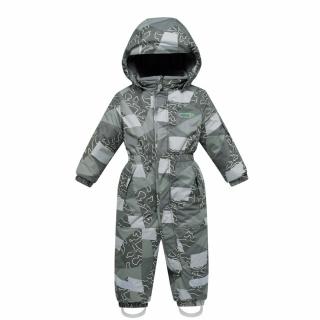Комбинезон детский зимний цвета хаки купить оптом в интернет магазине MTFORCE 8909Kh