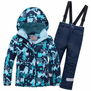 Горнолыжный костюм детский зимний синего цвета купить оптом в интернет магазине MTFORCE 8928S