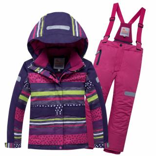 Горнолыжный костюм подростковый для девочки зимний темно-фиолетового цвета купить оптом в интернет магазине MTFORCE 8930TF