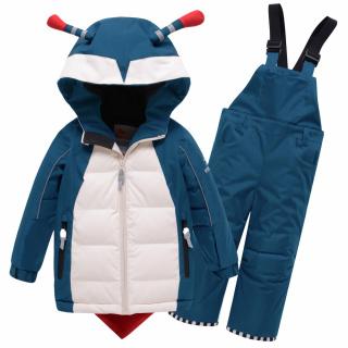 Детский зимний костюм горнолыжный зеленого цвета купить оптом в интернет магазине MTFORCE 9001Z