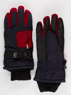 Горнолыжные перчатки подростковые для мальчика зимние черного цвета купить оптом в интернет магазине MTFORCE 901Ch