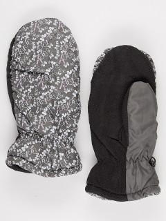 Рукавицы женские зимние серого цвета купить оптом в интернет магазине MTFORCE 902Sr