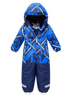 Комбинезон детский зимний цвета синий купить оптом в интернет магазине MTFORCE 9027S