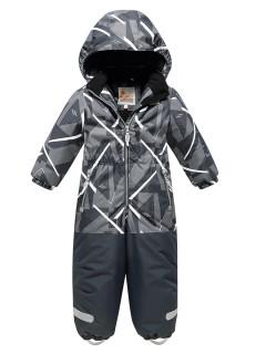 Комбинезон детский зимний темно-серого купить оптом в интернет магазине MTFORCE 9027TC