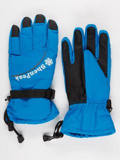 Горнолыжные перчатки женские зимние синего цвета купить оптом в интернет магазине MTFORCE 903S