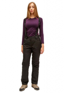 Интернет магазин MTFORCE.ru предлагает купить оптом брюки горнолыжные женские черного цвета 905Ch по выгодной и доступной цене с доставкой по всей России и СНГ