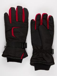Горнолыжные перчатки мужские зимние красного цвета купить оптом в интернет магазине MTFORCE 907Kr