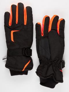 Горнолыжные перчатки мужские зимние оранжевого цвета купить оптом в интернет магазине MTFORCE 907O