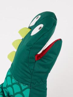 Рукавицы детские зимние зеленого цвета купить оптом в интернет магазине MTFORCE 908Z