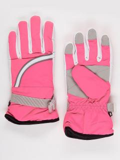 Горнолыжные перчатки подростковые для девочки зимние серого цвета купить оптом в интернет магазине MTFORCE 910Sr