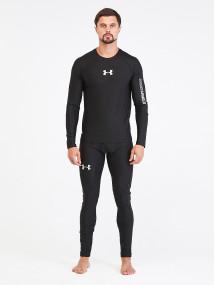 Термобелье мужское черного цвета купить оптом в интернет магазине MTFORCE 91159Ch