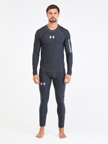 Термобелье мужское темно-серого цвета купить оптом в интернет магазине MTFORCE 91159TC