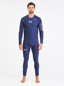 Термобелье мужское темно-синего цвета купить оптом в интернет магазине MTFORCE 91159TS