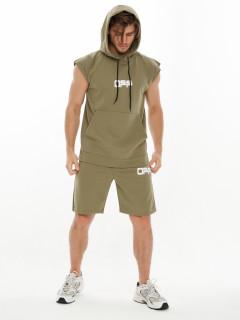 Купить спортивные костюмы шорты и футболки мужские оптом от производителя дешево 9163Kh