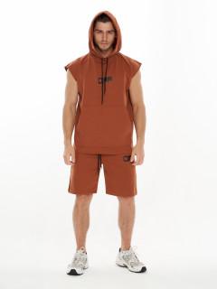 Купить спортивные костюмы шорты и футболки мужские оптом от производителя дешево 9163K