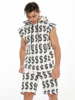 Купить спортивные костюмы шорты и футболки мужские оптом от производителя дешево 9166Bl