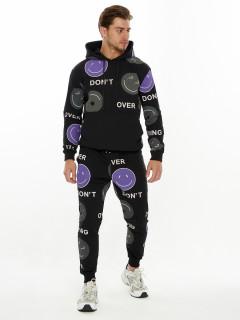 Купить спортивные костюмы со смайликами мужские оптом от производителя дешево 9167Ch