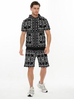 Купить молодежный костюмы шорты и футболки мужские оптом от производителя дешево 9168Ch