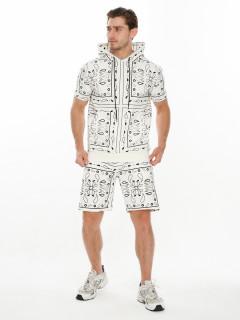 Купить молодежный костюмы шорты и футболки мужские оптом от производителя дешево 9168Bl