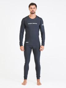 Термобелье мужское темно-серого цвета купить оптом в интернет магазине MTFORCE 9178TC