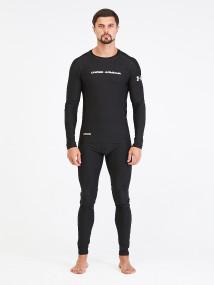 Термобелье мужское черного цвета купить оптом в интернет магазине MTFORCE 9178Ch