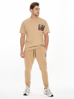 Купить костюмы джоггеры и футболки мужские оптом от производителя дешево 9181B