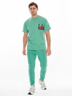 Купить костюмы джоггеры и футболки мужские оптом от производителя дешево 9181Sl