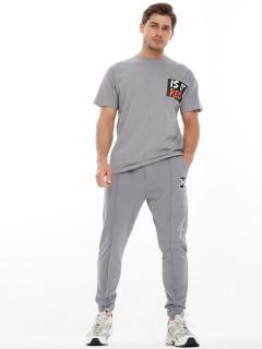 Купить костюмы джоггеры и футболки мужские оптом от производителя дешево 9181Sr