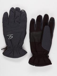 Горнолыжные перчатки мужские зимние серого цвета купить оптом в интернет магазине MTFORCE 921Sr