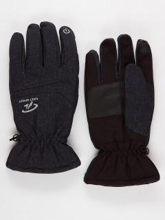 Горнолыжные перчатки мужские зимние темно-синего цвета купить оптом в интернет магазине MTFORCE 921TS