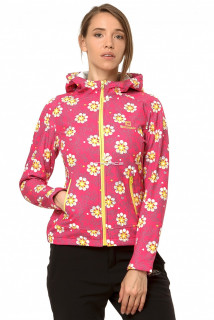 Купить оптом ветровку- виндстоппер женскую желтого цвета 925J в интернет магазине MTFORCE.RU