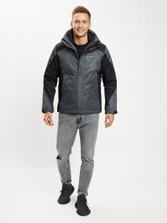 Купить оптом мужскую спортивную куртку 3 в 1 от производителя в Москве дешево 93213Sк